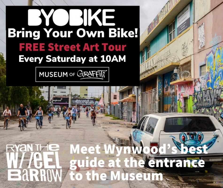 BYOB! 'Bring Your Own Bike' FREE Street Art Tour
