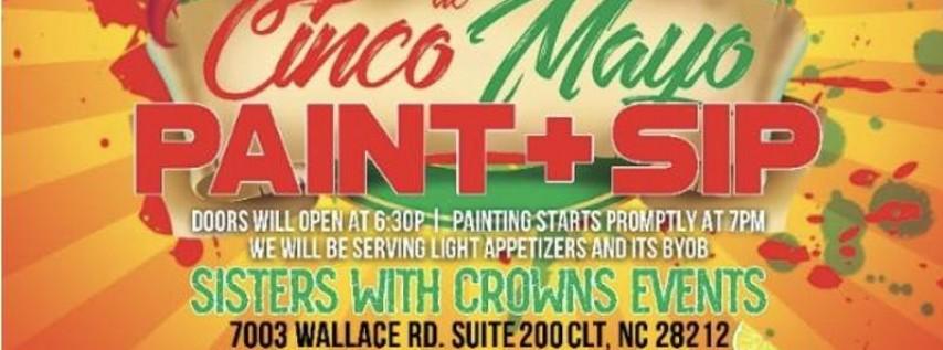 Cinco de Mayo Paint and Sip
