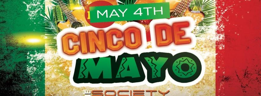 PRE CINCO DE MAYO DAY PARTY AT SOCIETY LOUNGE SILVER SPRING