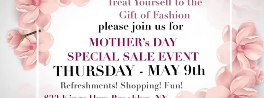 MOTHER's Day Special SALE