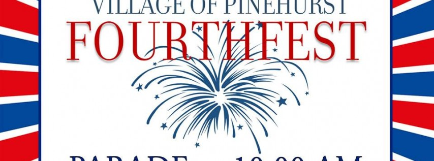 Fourthfest Parade in the Village of Pinehurst