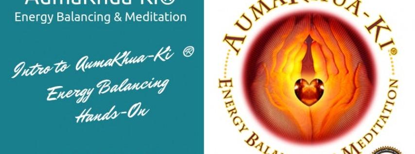 Intro to AumaKhua-Ki ® Energy Balancing - (3 CEs - Live)