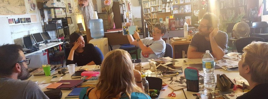 Weeklong Comics Workshop - October 14-18, 2019