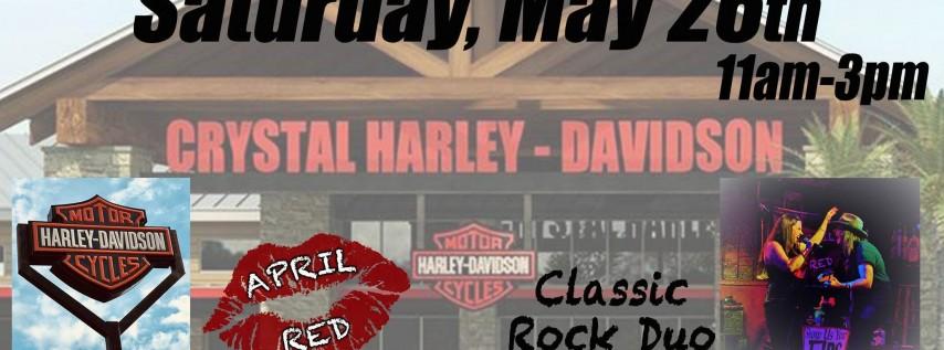 April Red debuts at Crystal Harley-Davidson in Homosassa!