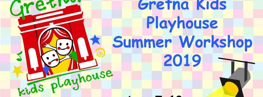 Gretna Kids Playhouse, Summer Workshop 2019 (7/15-7/26) - Alice in Wonderland