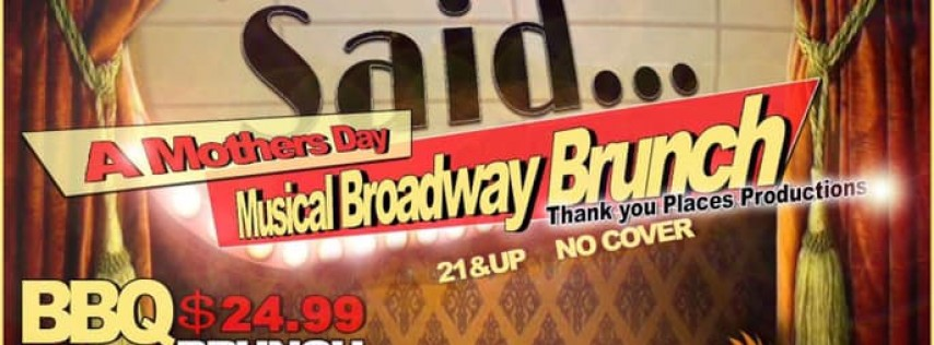 Mother's Day Broadway Musical