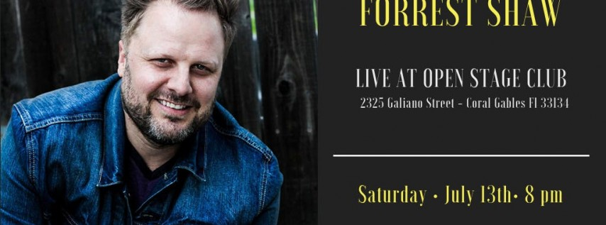 Have-Nots Comedy Presents Forrest Shaw