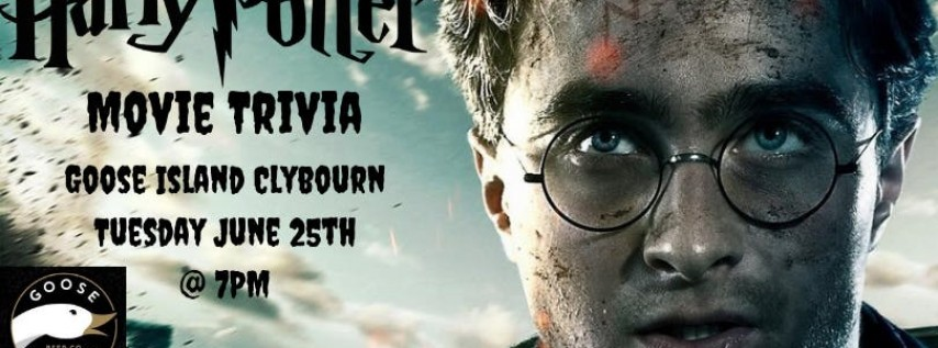 Harry Potter (Movie) Trivia at Goose Island Chicago