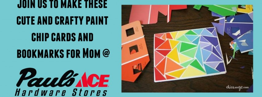 Mother's Day Craft @ Paul's Ace Hardware Gilbert & Baseline