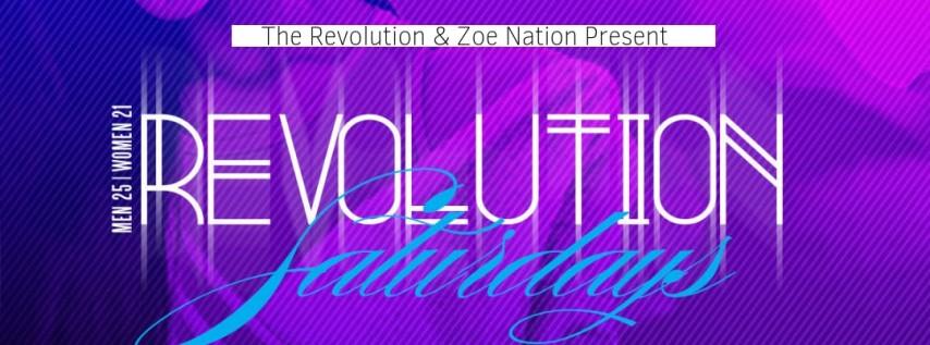 #REVNOLA - Revolution Saturdays
