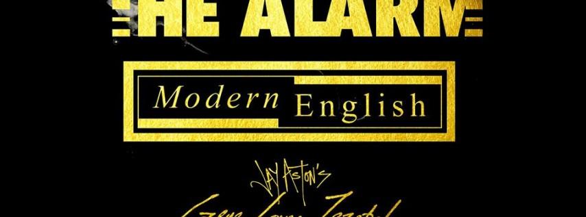 The Alarm, Modern English, Jay Aston's Gene Loves Jezebel- Miami