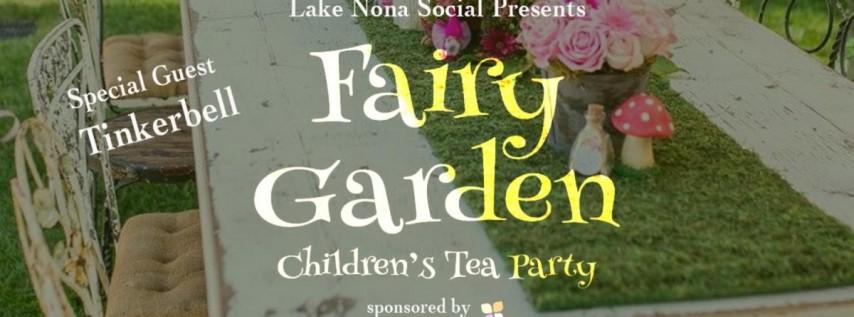 Mommy & Me: Garden Tea Party