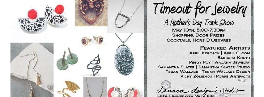 Timeout for Jewelry! A Mother's Day Trunk Show