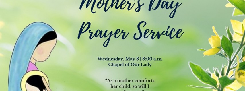 Mother's Day Prayer Service