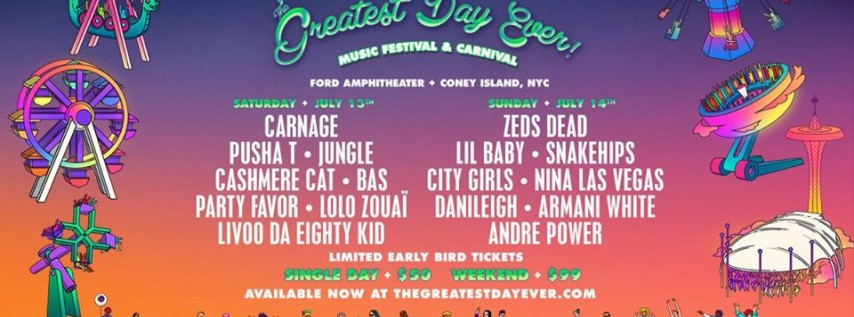 The Greatest Day Ever! Festival Presented By adidas Originals