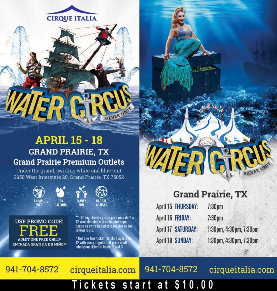 Cirque Italia Grand Prairie, TX