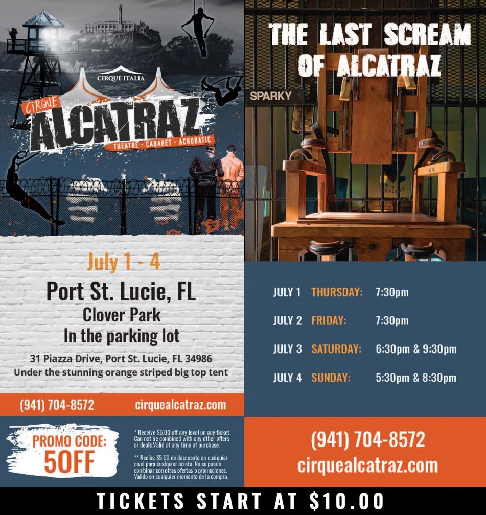 Cirque Alcatraz Port St. Lucie, FL