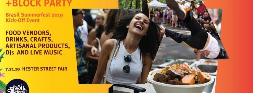 Brasil Summerfest: Street Fair + Block Party
