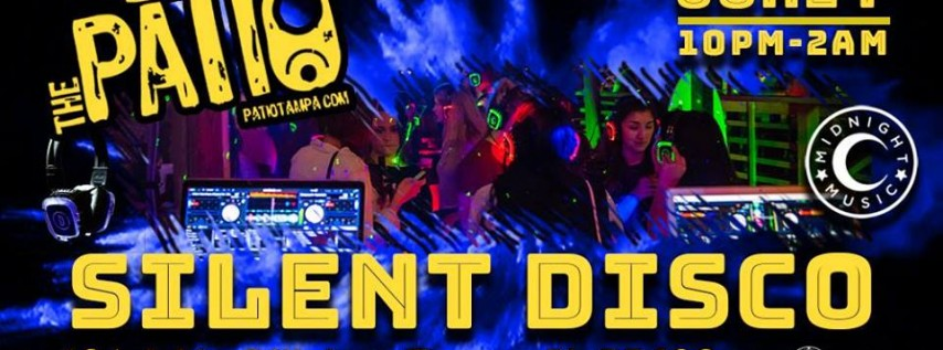 Patio June Silent Disco