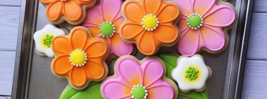 Mother's DAY Cookie Decorating Workshop - Adult Beginner