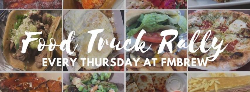 Food Truck Rally Thursdays at FMBrew