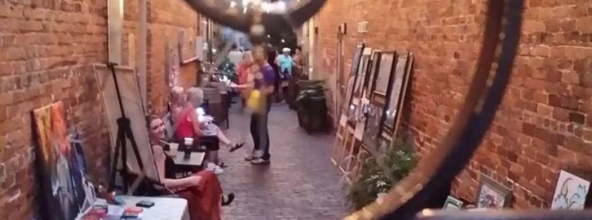 Art Walk Art in the Alley