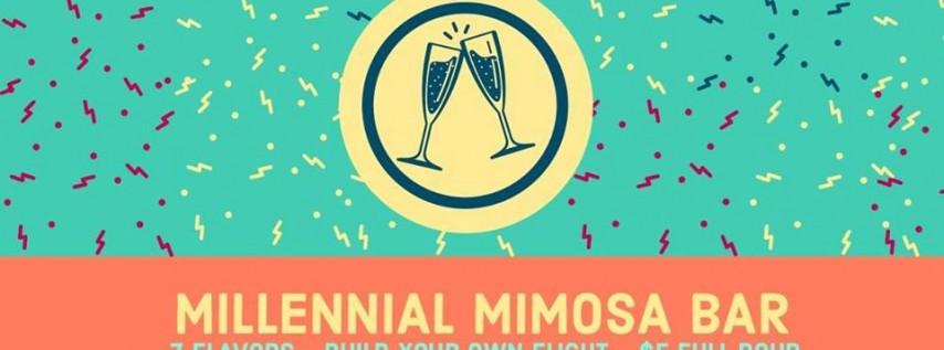 Millennial Mimosa Bar