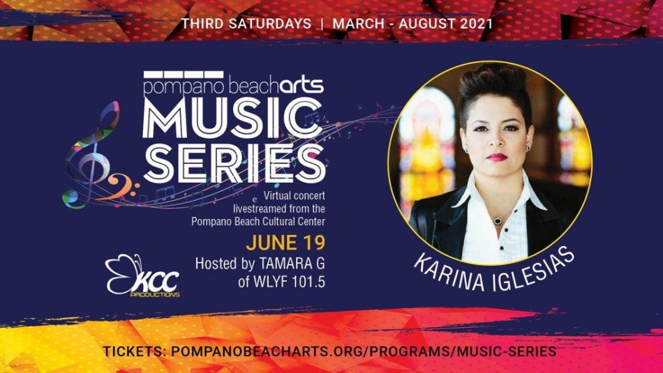 Pompano Beach Arts presents Karina Iglesias and the Nu-Thang