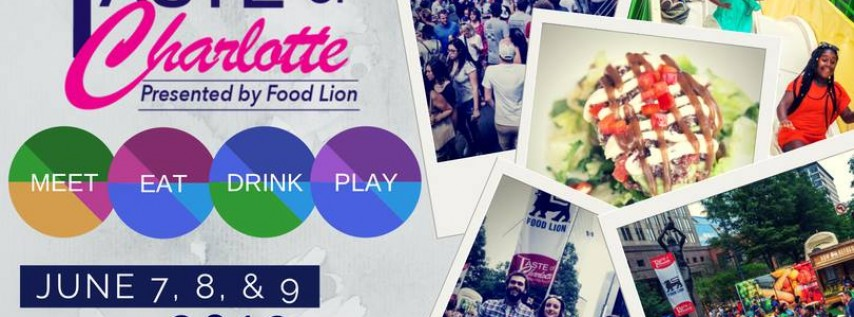 Taste of Charlotte 2019, presented by Food Lion