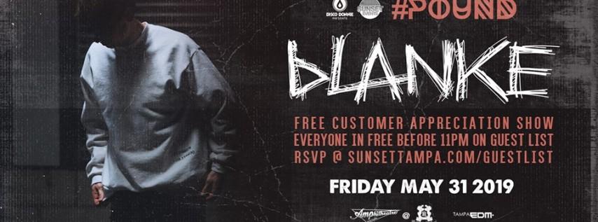 Blanke – Free Guest List – Tampa, FL