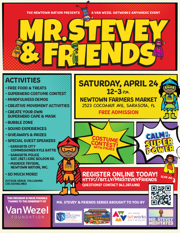 Mr. Stevey & Friends LIVE! 'Calm is Your Superpower!'