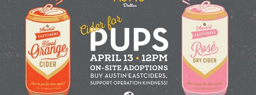 Cider for Pups - Dallas