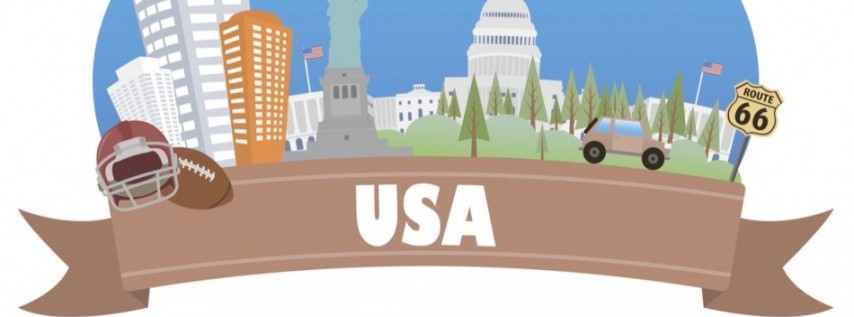 All-American Road Trip Camp (Ages 4-8 / 5-day)