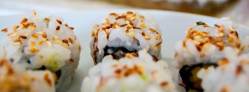 Sushi & Dumplings Class (BYOB / 18+)