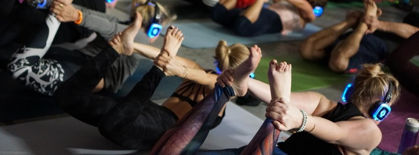 Silent Disco Yoga with CorePower Yoga