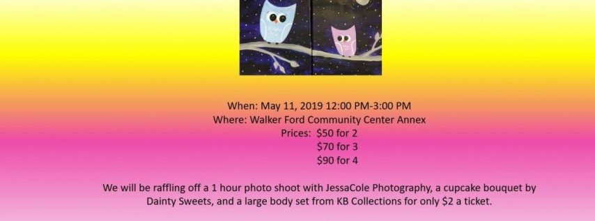 A Mother's Day Mommy & Me Paint Brunch