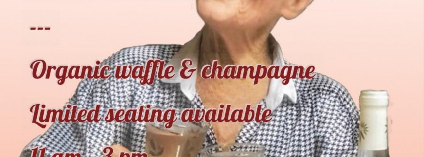 Mother's Day Waffle & Champagne With Sylvie - Limited Seating