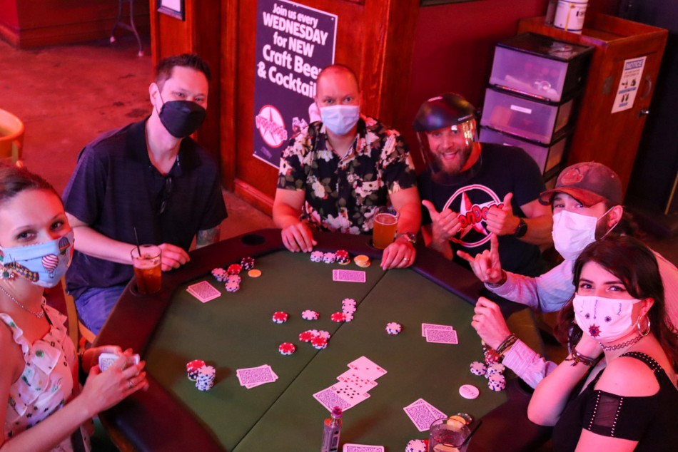Wings for Life Texas Hold'em Charity Tournament at Moondogs