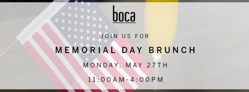 Memorial Day Brunch