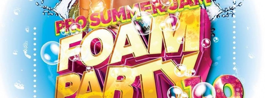 Pro Summer Jam Foam Party