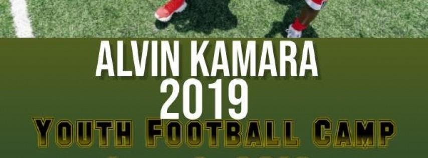 Alvin Kamara Youth Football Camp