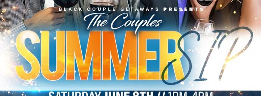 Black Couple Getaways Summer Sip (Tampa)