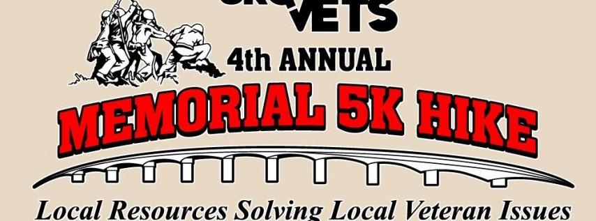4th Annual 5k Memorial Hike