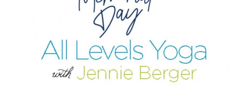Memorial Day Yoga Class w/ Jennie