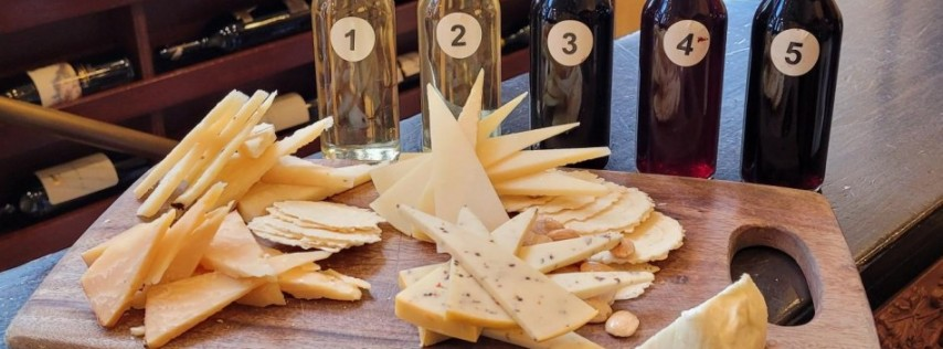 Saint Cosme Wine & Cheese Tasting