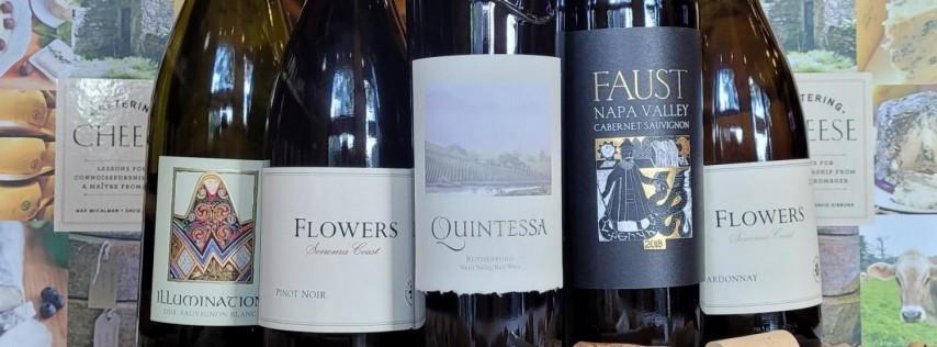 Quintessa & Co. Wine & Cheese Tasting