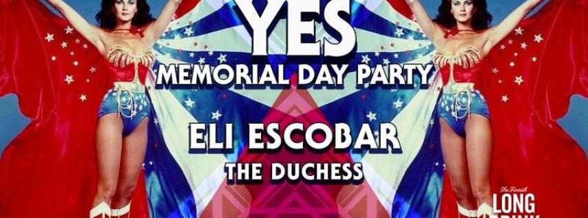 YES Memorial Day Party
