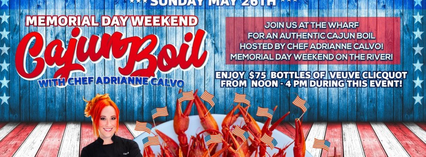Cajun Broil with Chef Adrianne | Memorial Day Weekend