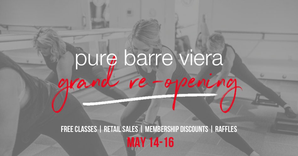 Pure Barre Viera - Grand Re-Opening