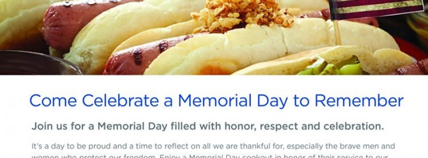 Celebrate a Memorial Day to Remember at Brookdale Colonial Park